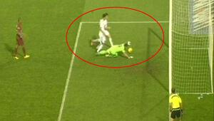 Trabzonda herkesi şaşırtan gol