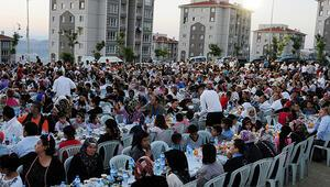7'den 70'e iftar sofrası