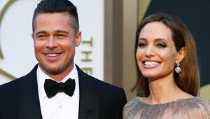 Brad Pitt ve Angelina Jolie evlendi