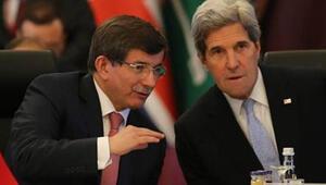 Davutoğlu, Kerry ile telefonda görüştü