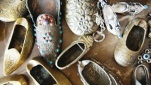 Binlerce ayakkabılık koleksiyon müzede