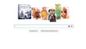 Antoni Gaudí eserleri ile doodle oldu