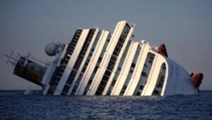 """""""Costa Concordia""""nın Türkiyede sökülmesi yeniden gündemde"""