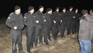 Kolinin Yırcadaki şantiyesinde güvenlik görevlileri ve işçilerin işine son verildi