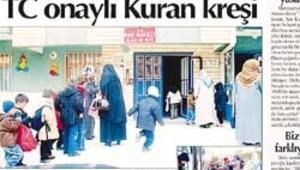 İslamcıların modern kasabasıymış