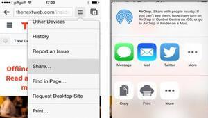Chromea iOS 8 makyajı