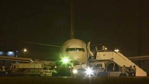 Malezya uçağı yine korkuttu