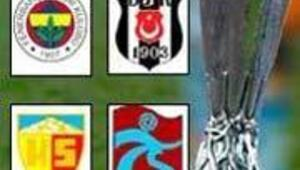 UEFA Kupasındaki rakiplerden ikisi kolay, ikisi zor