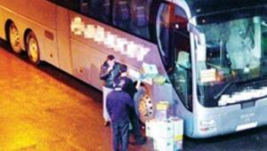 Kaçak en fazla şehirlerarası otobüslerde