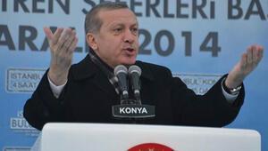 Erdoğan Konyada konuştu