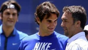 Federer futbolu çok sevdi