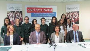 Kızların eğitimi için 125 bin TL destek