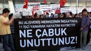 İnşaatında 11 işçinin yanarak öldüğü AVM açıldı