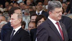 Rusya ve Ukrayna liderlerini Dünya Kupası finali de barıştıramadı