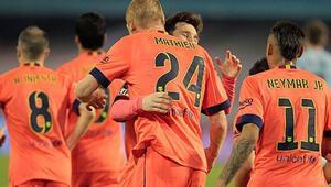Barcelona, 4 puanlık farkı korudu