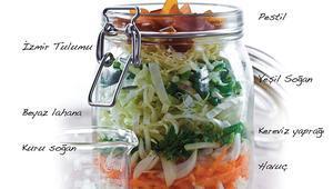 Beyaz yakalı salatalar