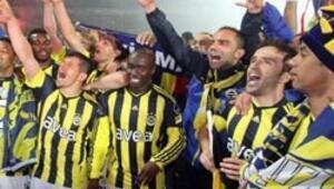 Fenerbahçenin şampiyonluğu tescillendi