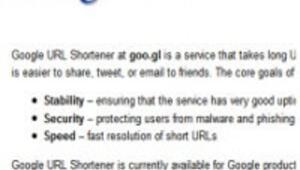 Googledan yeni Goo.gl