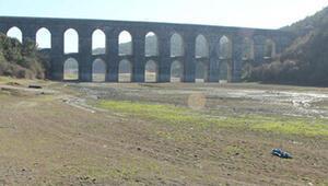 Baraj suları 10 yılın dibinde