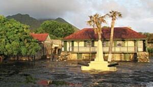 Karayipler'in tropik Hollanda bahçesi
