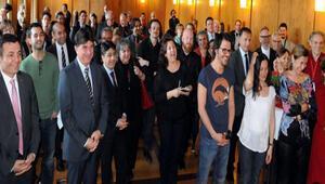Nurnberg Film festivali sanatcilari onuruna resepsiyon