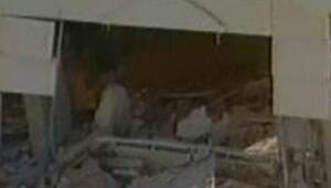 Keçiörende 4 katlı bina çöktü
