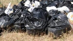 Ağrı Dağından bin torba çöp toplandı