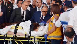 Yaralı Gazzeliler geldi