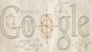 Leonhard Eulera özel doodle