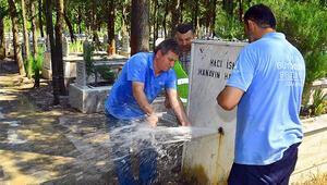 Mezarlıklardan 3 ayda 850 musluk çalındı