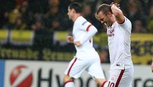 Dortmund - Galatasaray maçı golleri, özeti ve maçtan fotoğraflar