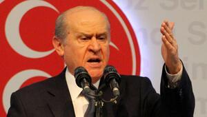 Bahçeliden Davutoğlu açıklaması