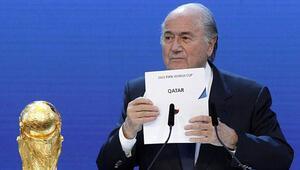 Blatterin istediği tek şey şöhret