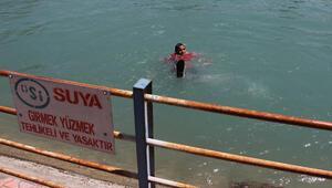 Adanada kanallarda yüzenlere para cezası kesilecek