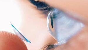 Lensle denize veya havuza girenlerde körlük riski