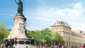Paris'in Taksimi ağaçlandırıldı