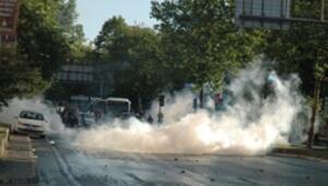 Köprüyü geçenlere Beşiktaşta müdahale