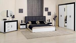 Monokrom yatak odası