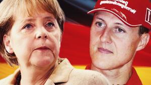 Merkel kayak yaparken kaza geçirdi