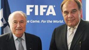 Blatter ve Demirörenden ortak basın toplantısı