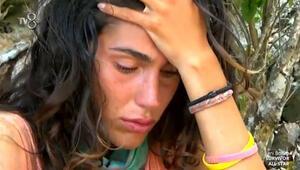 """Survivor Serenay Aktaş ağlama krizi geçirdi: """"Beni burada yerler"""""""