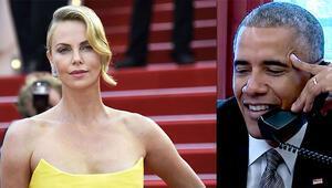 Charlize Therondan Obamayı şaşırtan teklif