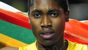 Cinsiyet tartışmalarını Semenya kazandı