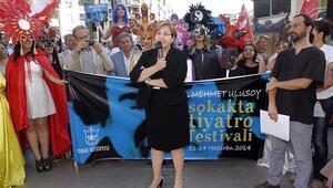 Sokakta Tiyatro Festivali başladı