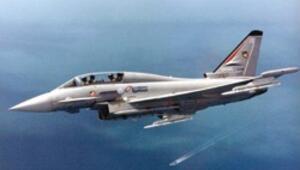 İspanya'dan az kullanılmış Eurofighter