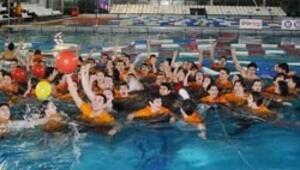 Havuzda Galatasaray üstünlüğü