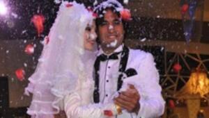 Sivassporlu futbolcu Hayrettin Yerlikaya evlendi