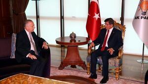 Ahmet Davutoğlu, Ekmeleddin İhsanoğlu görüşmesi 20 dakika sürdü