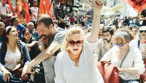 Taksimde Gezi ablukası