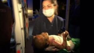Naylon çadır yandı 5 Suriyeli çocuk öldü